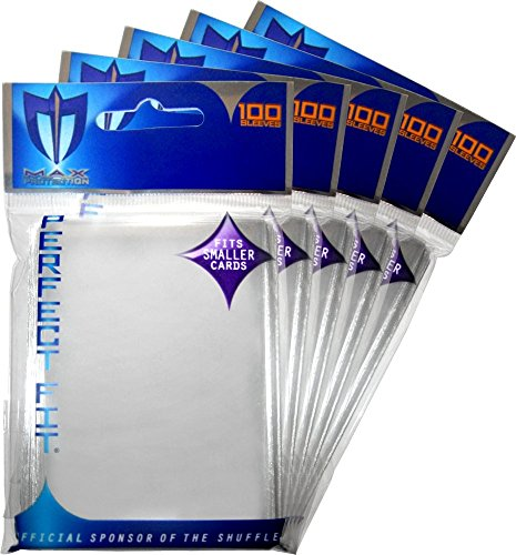 Max Protection (500) Perfect Fit Small Deck Inner Sleeves ()