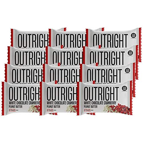 Outright Bar | 12 Pack – White Chocolate Cranberry Peanut Butter