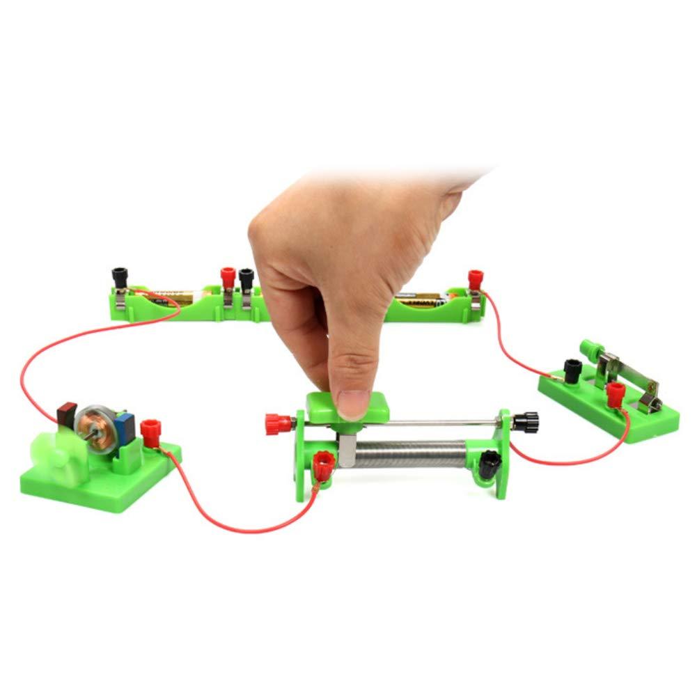 YHCWJZP DIY Electricity Test Children Electromagnetic Physics Science Experiment Set by YHCWJZP (Image #3)