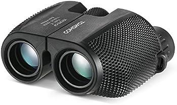 Tomshoo 10x25 Waterproof Compact BAK4 Telescope Binocular