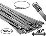 """Electriduct 30"""" Stainless Steel Cable Ties Heavy"""