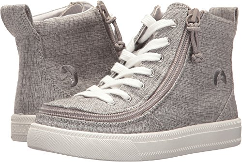 (BILLY Footwear Kids Unisex Classic High Jersey (Toddler/Little Kid/Big Kid) Grey Jersey 2 Little Kid M)