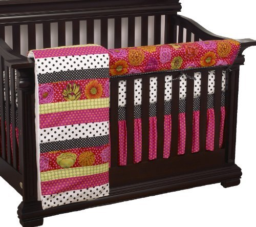 Cotton Tale Designs Tula Front Crib Rail Cover Up Set by Cotton Tale Designs [並行輸入品]   B01BM262EW
