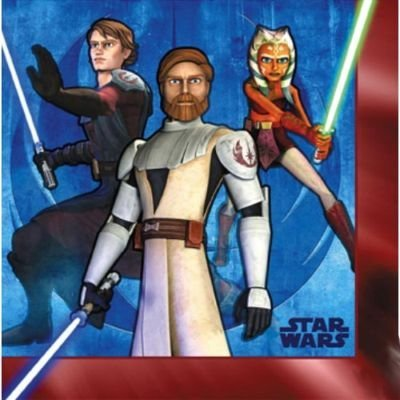 - Hallmark Star Wars: The Clone Wars Lunch Napkins - 16 ct