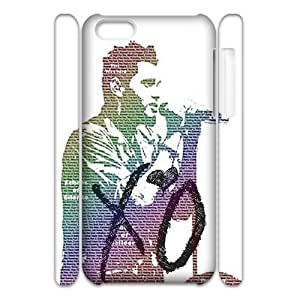 The Weeknd XO 3D phone iphone 5c iphone 5c Case Hard Plastic Snap On Cover Durable Protective Shell Shin for phone iphone 5c iphone 5c