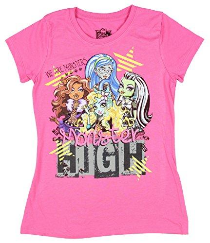 Monster High Clothes For Girls (Monster High Girls T-shirt (L (10/12)))