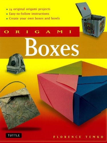Contains Instructions (Origami Boxes: This Easy Origami Book Contains 25 Fun Projects and Origami How-to Instructions: Great for Both Kids and Adults!)