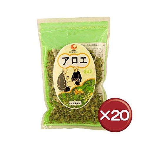 比嘉製茶 キダチアロエスライス(アロエ茶) 50g 20袋セット B00NIPUL08   20袋