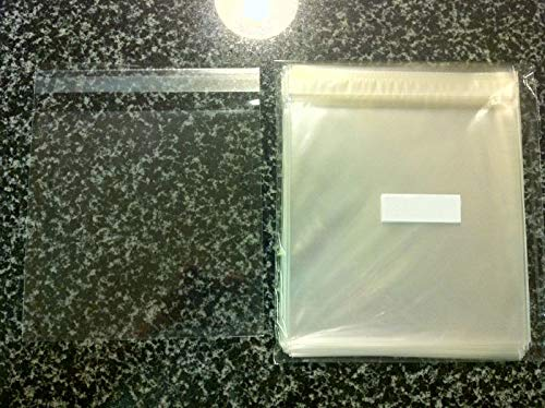 500 Pcs 6 7//16 X 6 1//4 Clear Resealable Cello//Cellophane Bags Good for 6x6 Square Card