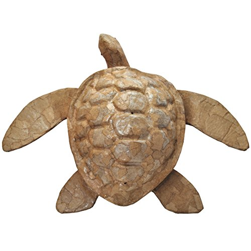 - Memorial Gallery Paper Sea Turtle Biodegradable Cremation Urn (Full-Size, Natural)