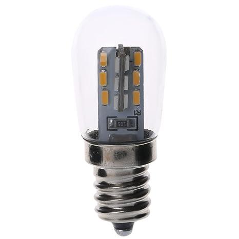 Enyu - Bombilla LED (E12, 2 W, 3014, SMD, 24 LED