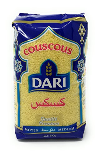 Dari Medium Moroccan Couscous 1kg, 2.2lb