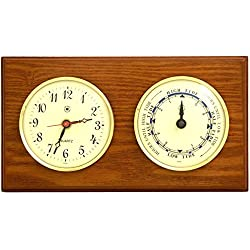 Bey-Berk International Parkstone Tide Wall Clock - 6 Inches Wide