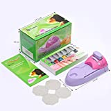Hechun Nail Art Printer Drawing Pattern Stamp Machine DIY Kit for Office Workers Student Groups Beautiful (Green (Contain oil))