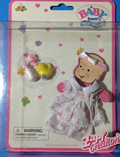 Zapf Baby Born Miniworld Doll Fashions & Accessories for sale  Delivered anywhere in USA