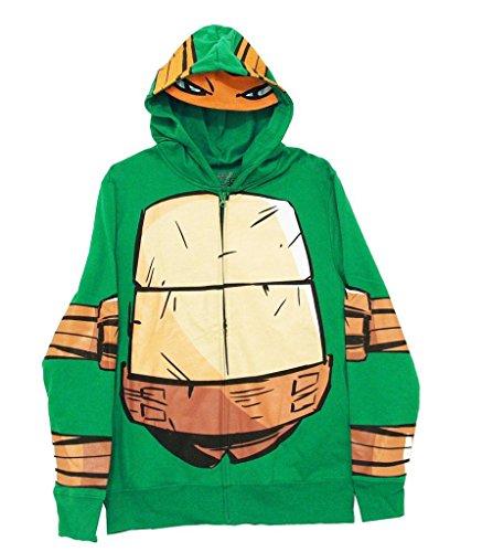 Teenage Mutant Ninja Turtles Toddlers Costume Hoodies - 7 Green