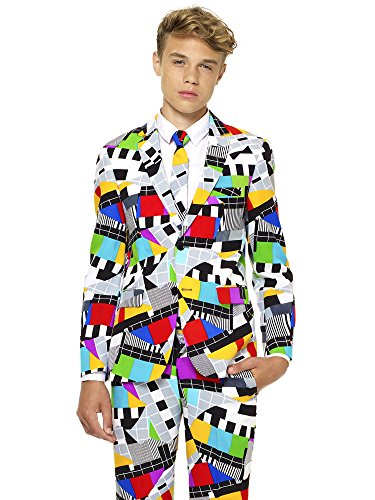 - OppoSuits Crazy Suits for Boys in Different Prints – Comes with Jacket, Pants and Tie in Funny Designs