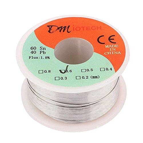 0.8mm 60/40 Tin lead Rosin Core Solder Wire Reel - 4