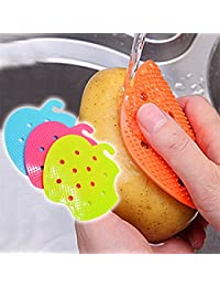 Gain 1 Piece Multi-functional Fruit Vegetable Brush Kitchen Tools Easy Cleaning Brush For Potato Kitchen Home Gadgets... cheapest