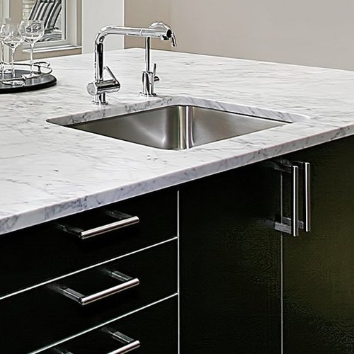 Houzer MS-1708-1 Club Series Undermount Stainless Steel Square Bowl Bar/Prep Sink by HOUZER (Image #4)