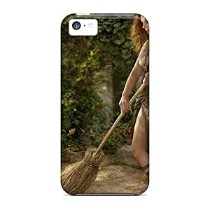 5c Scratch-proof Protection Cases Covers For Iphone/ Hot Pretty Witch Phone Cases