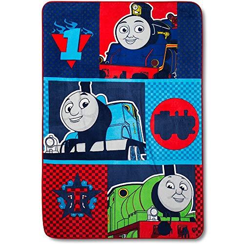 Thomas & Friends Room - Thomas Full Size Plush Blanket - 62 in. x 90 in.