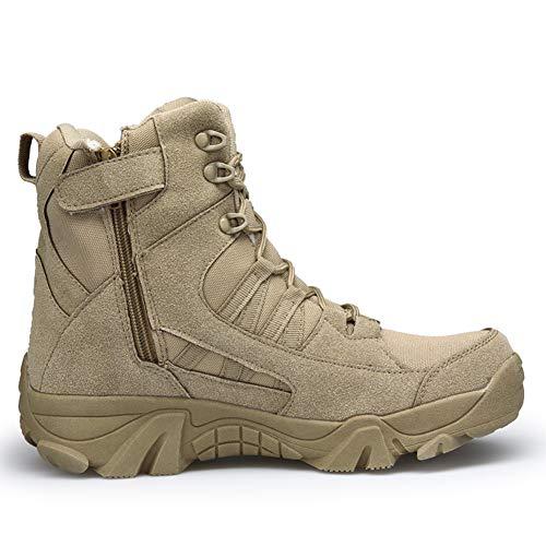 Militaires En Suédé Kaki Suetar Cuir Antidérapantes De Les L'usure Résistant Chaussures Bottes Hommes Chaud Homme Et Pour À Randonnée Haut Tactiques Imperméables Gardez Gamme grPvg
