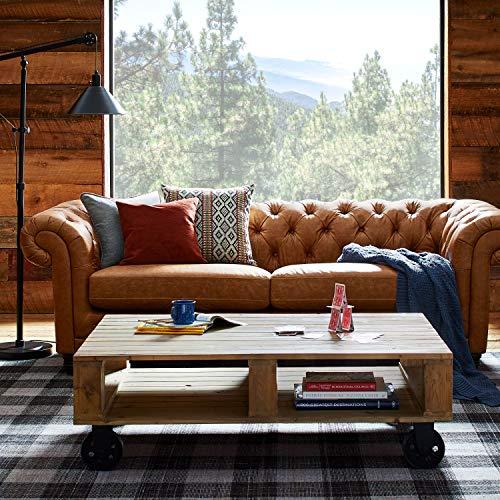 Stone Amp Beam Bradbury Chesterfield Modern Sofa 93 Quot W