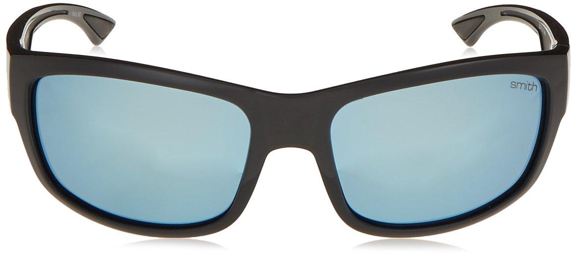 Smith Optics Dover Sun Sunglasses, Black Frame, Polar Blue Mirror TLT Lenses by Smith Optics (Image #2)