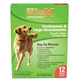 WormX Dog Wormer for Large Dogs – 12 pack, My Pet Supplies