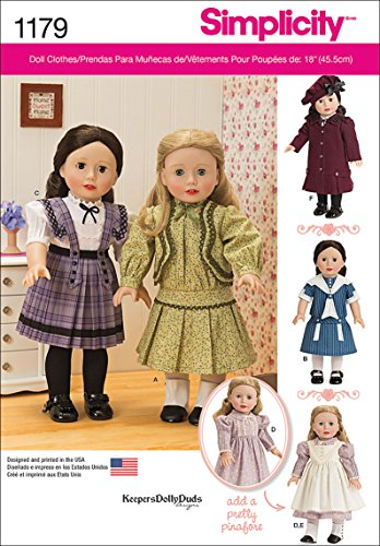 - Simplicity Patterns US1179OS Vintage Inspired Clothes for 18