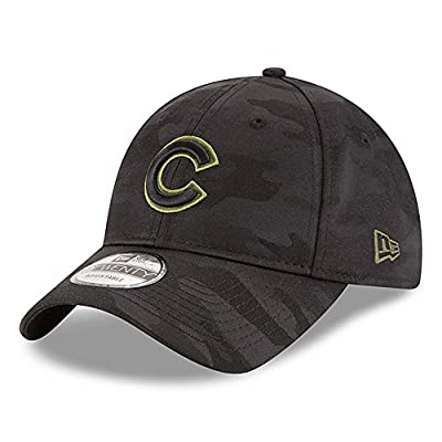 New Era Chicago Cubs Memorial Day Camo 9TWENTY Adjustable Hat/Cap