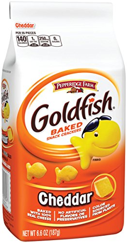 Pepperidge Farm, Goldfish Crackers, Cheddar, 6.6 Ounce
