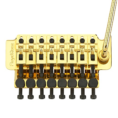 Floyd Rose 1000 Series 8-String Tremolo System: Gold