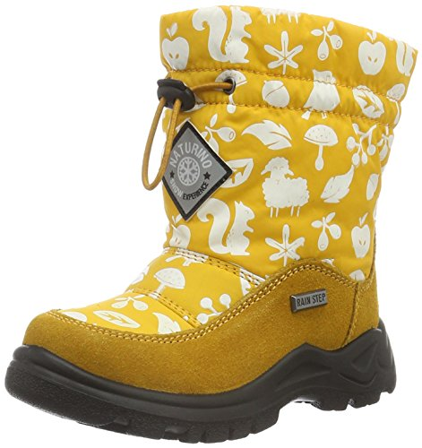 Chaude Gelb Mixte Avec gelb Varna Naturino 9115 Doublure Mi Enfant Bottes hauteur Jaune 00YnqUv
