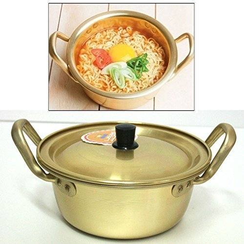 Korea Noodle Pot / Hot Shin Ramyun Aluminum Pot 6.3''(16cm)/ Traditional HOT POT by Korea Noodle Pot