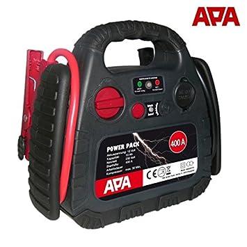 APA Power Pack 12 V 400 A 18bar mobile arranque Cargador Compresor Power Pack: Amazon.es: Coche y moto