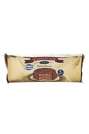 3 unidades x Alfajores de Chocolate Mardel (dulce de leche sándwiches para galletas): Amazon.es: Hogar