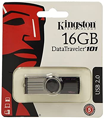 Comparer KINGSTON TECHNOLOGY DATATRAVELER DT101G2 NOIR 16GO