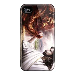 Sanp On Cases Covers Protector For Iphone 6 (jesus Vs Devil)