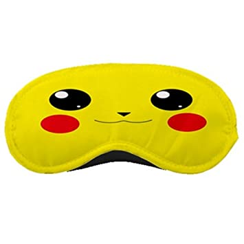 Amazon.com: Pikachu Face Antifaz para dormir: Health ...