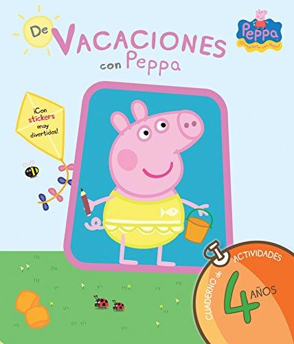 Peppa Pig. Cuaderno de actividades 4 años