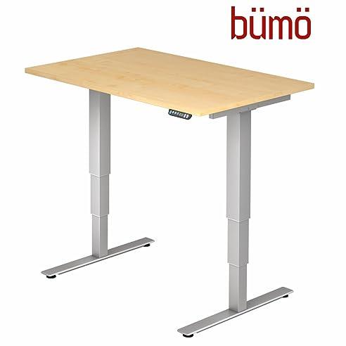 Ergonomischer arbeitstisch  Bümö® ergonomischer Schreibtisch elektrisch höhenverstellbar ...