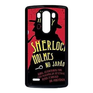 LG G3 phone case Black Sherlock OPQL5472817