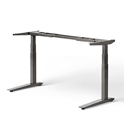 Bon Jarvis Standing Desk Frame Only   Electric Adjustable Height Sit Stand Desk    3 Stage