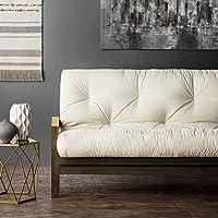 Mozaic Clay Alder Home Hansen Full-size 5-inch Futon Mattress Black