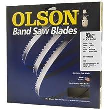 Olson Saw FB14493DB 1/4 by 0.025 by 93-1/2-Inch HEFB Band 4 TPI Hook Saw Blade