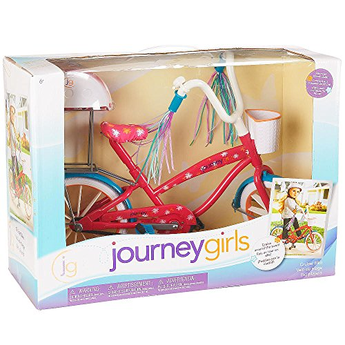 Journey Girls Doll Bike and Helmet