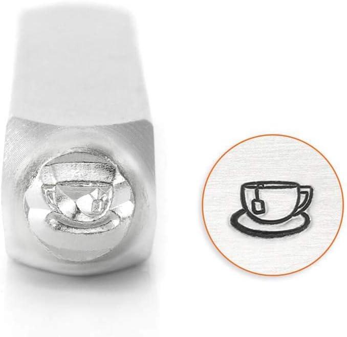 Impressart Tea Cup Design Stamp 6mm