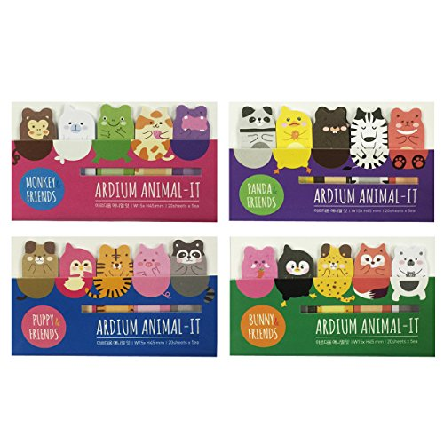 Wrapables Animal Friends Bookmark Sticky